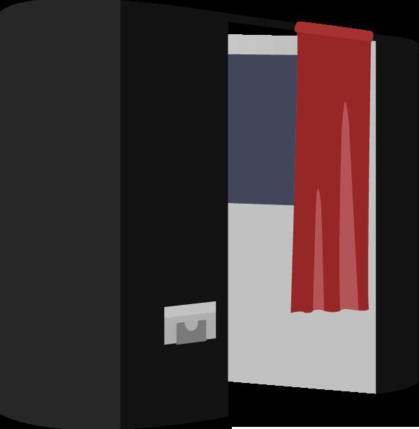 une cabine photo